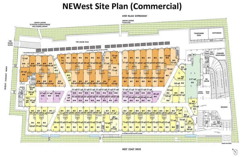 New Condo Launch - NEWest - Commercial Site Plan