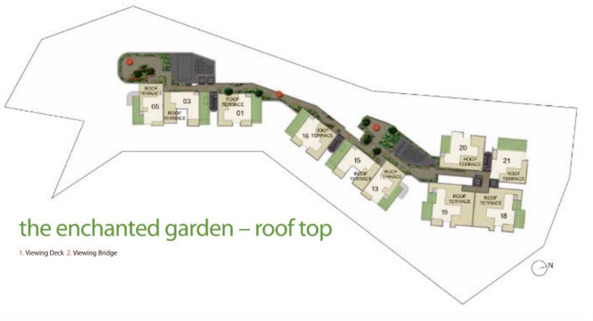 New Condo Launch - Pollen & Bleu - Site Plan Rooftop