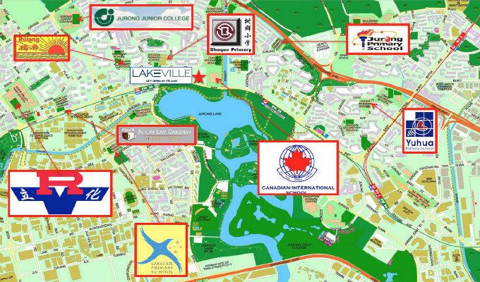 Singapore Property - LakeVille - Schools