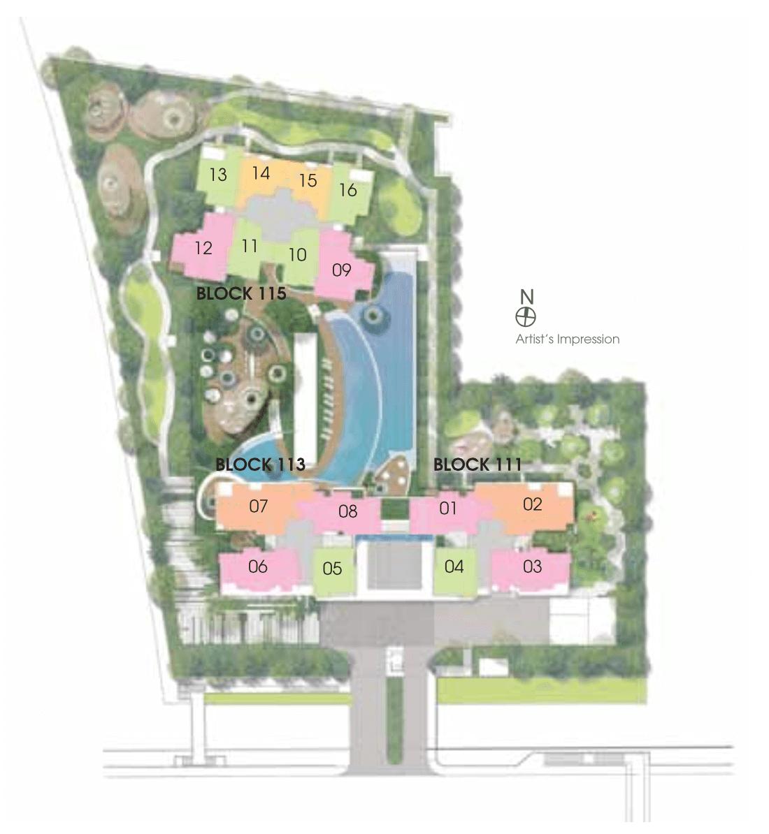 New Condo Launch - Trilive - Site Plan