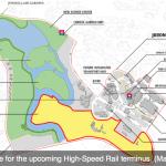 High Speed Rail Terminus Site Map