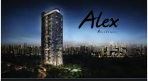 Singapore Condominium - Alex Residences - Facade