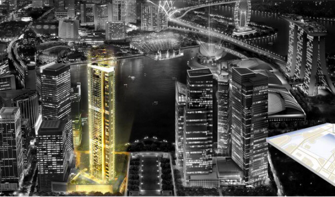 High-end luxury condo with panoramic bay view - Marina Bay Suites