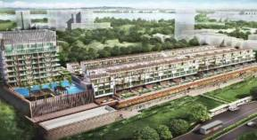 New Condo Launch - NEWest - Facade With Day View