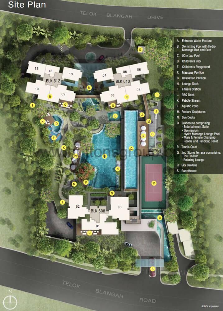 Skyline Residences - Site Plan