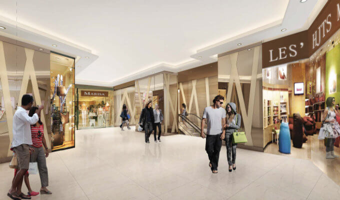The Rise @ Oxley Residences - Commercial Retail Shops & F&B