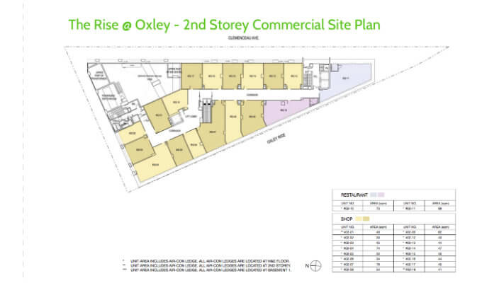 New condo launch the rise oxley residences for Commercial building plans online