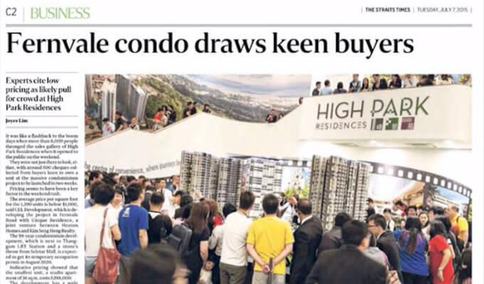 New Launch - Fernvale Condo Draws Crowds