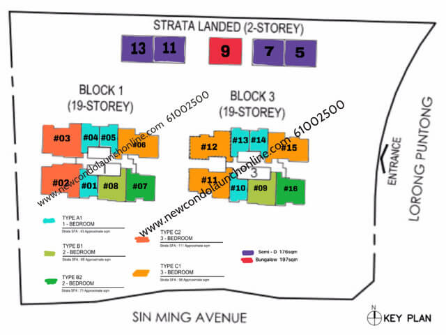 Singapore Property - Thomson Impressions Site Plan Colour