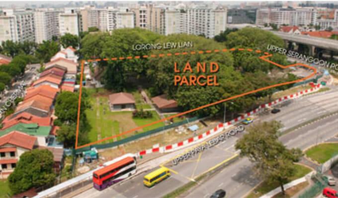 Lorong Lew Lian Land Parcel