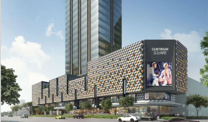 Centrium Square New Commercial Launch - Hero