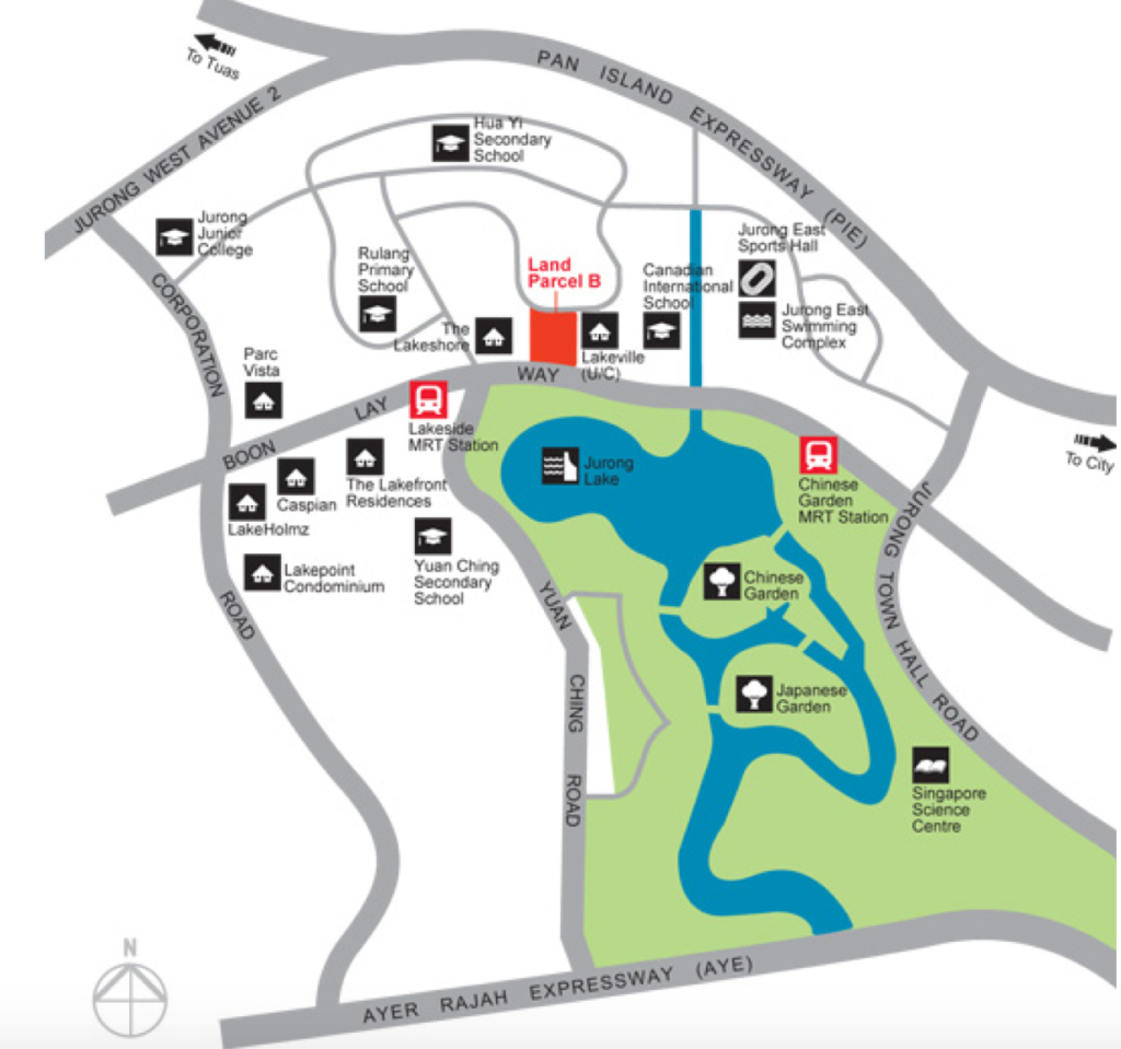 Jurong West Street 41 Parcel B - Location Map