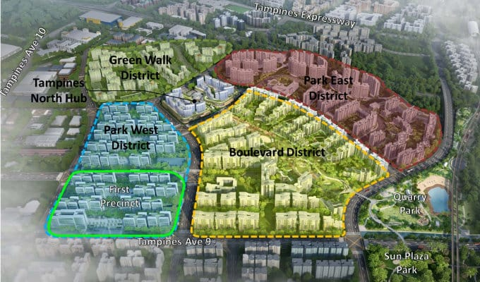 New Launch - Tampines North New HDB Planning