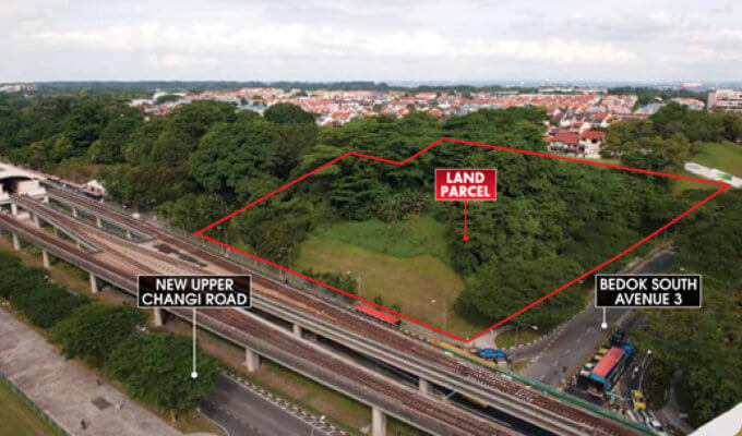 New Upper Changi Road / Bedok South Ave 3 Parcel B Sale Site