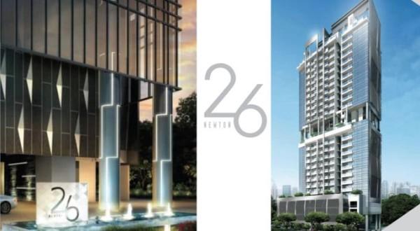 26 Newton - New Launches - Facade