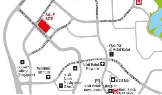 Bukit Batok West Ave 6 Location