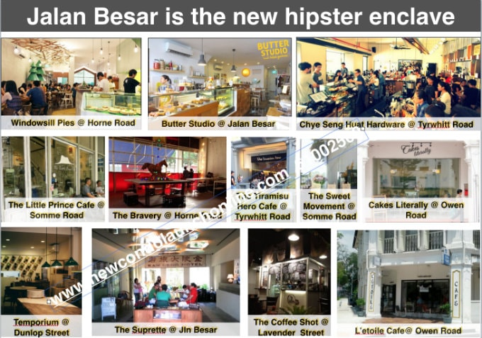 Jalan Besar Hip Cafes - New Condo Launch