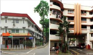 1920s Singapore Improvement Trust Flats