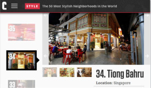 Top 50 Most Stylish Neighbourhood In The World