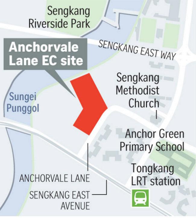 Anchorvale EC Location