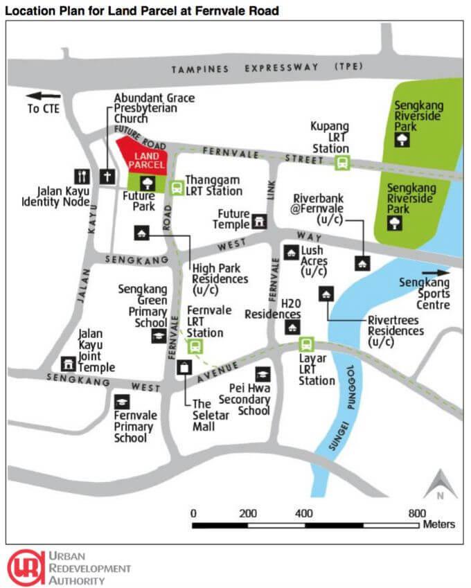 Fernvale Land Parcel Top Bid By Sing Development And Wee Hur Development