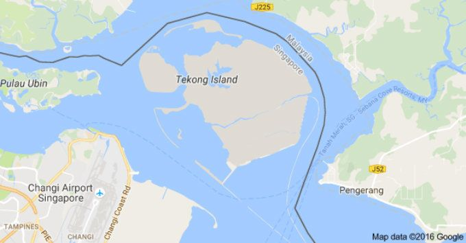 New Land Reclamation Method For Pulau Tekong