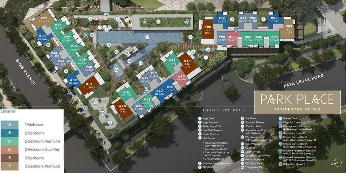 Park Place Residences Site Plan