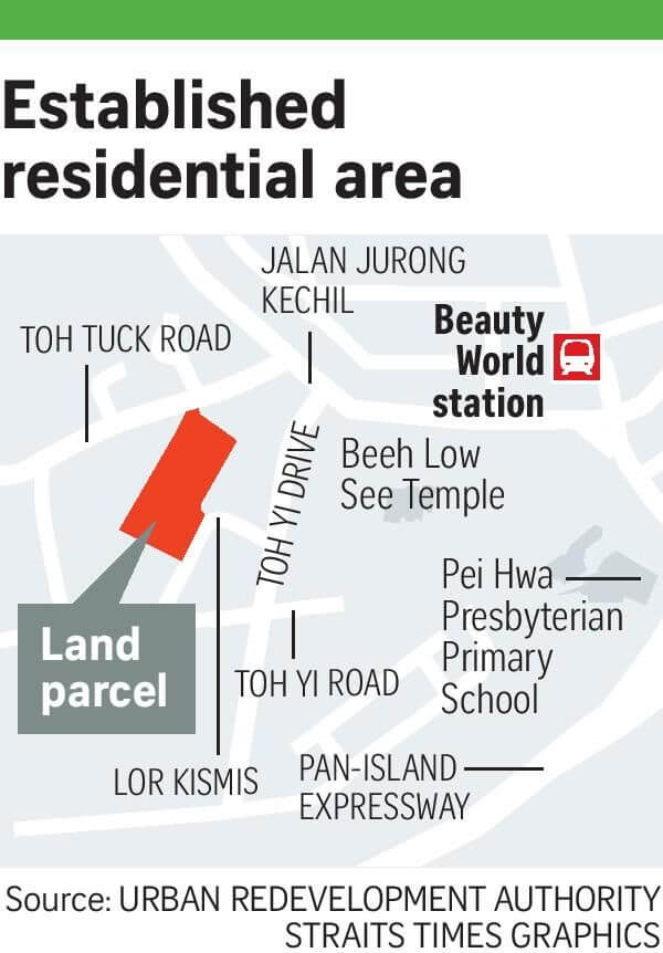 Toh Tuck Site Location Map