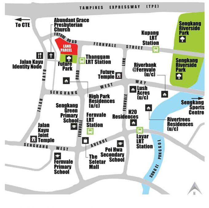 Parc Botannia Location Map