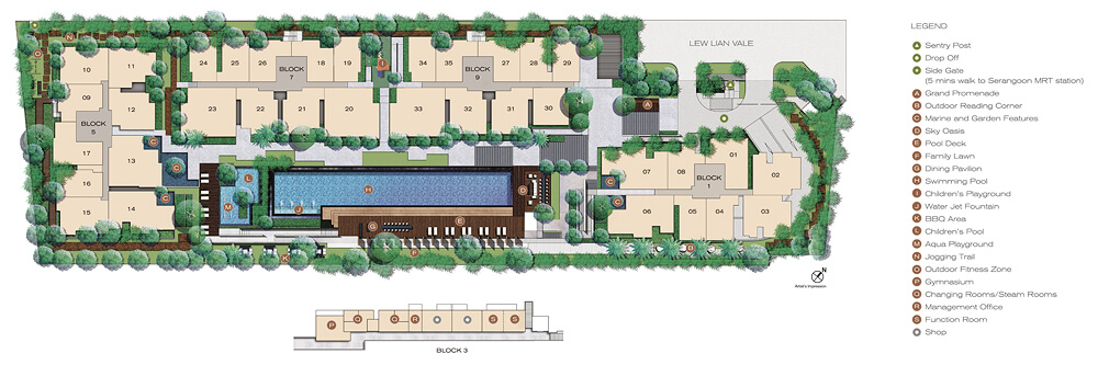 Jade Residences New Property Site Plan