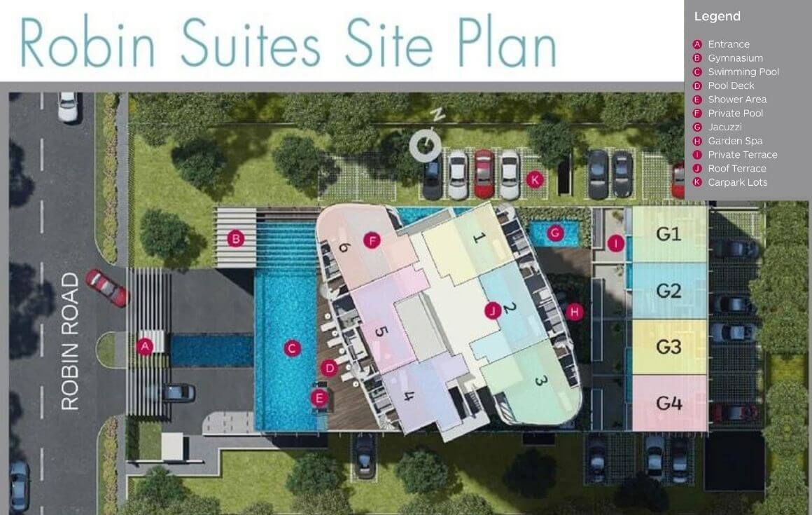 Robin Suites Site Plan New Property