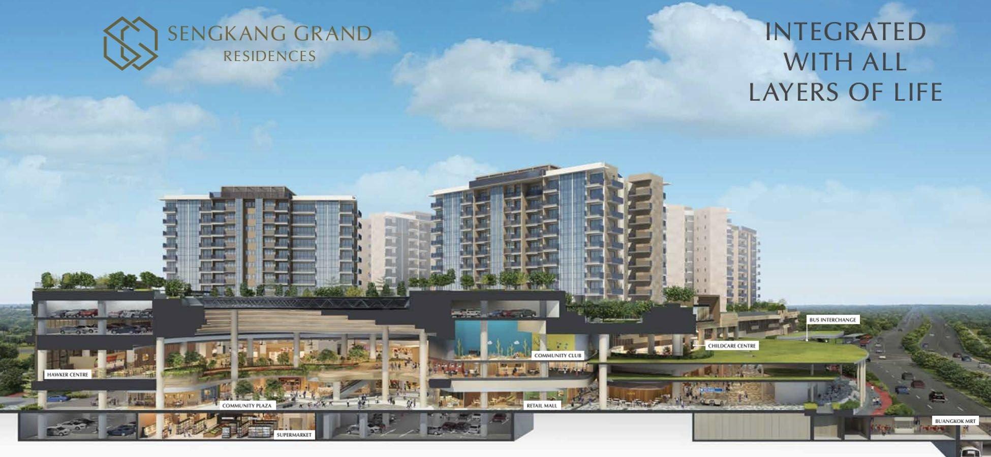 Sengkang Grand Residences<br>is a Mixed Development