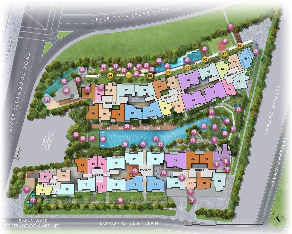 Forest Woods New Launch Condo Site Plan
