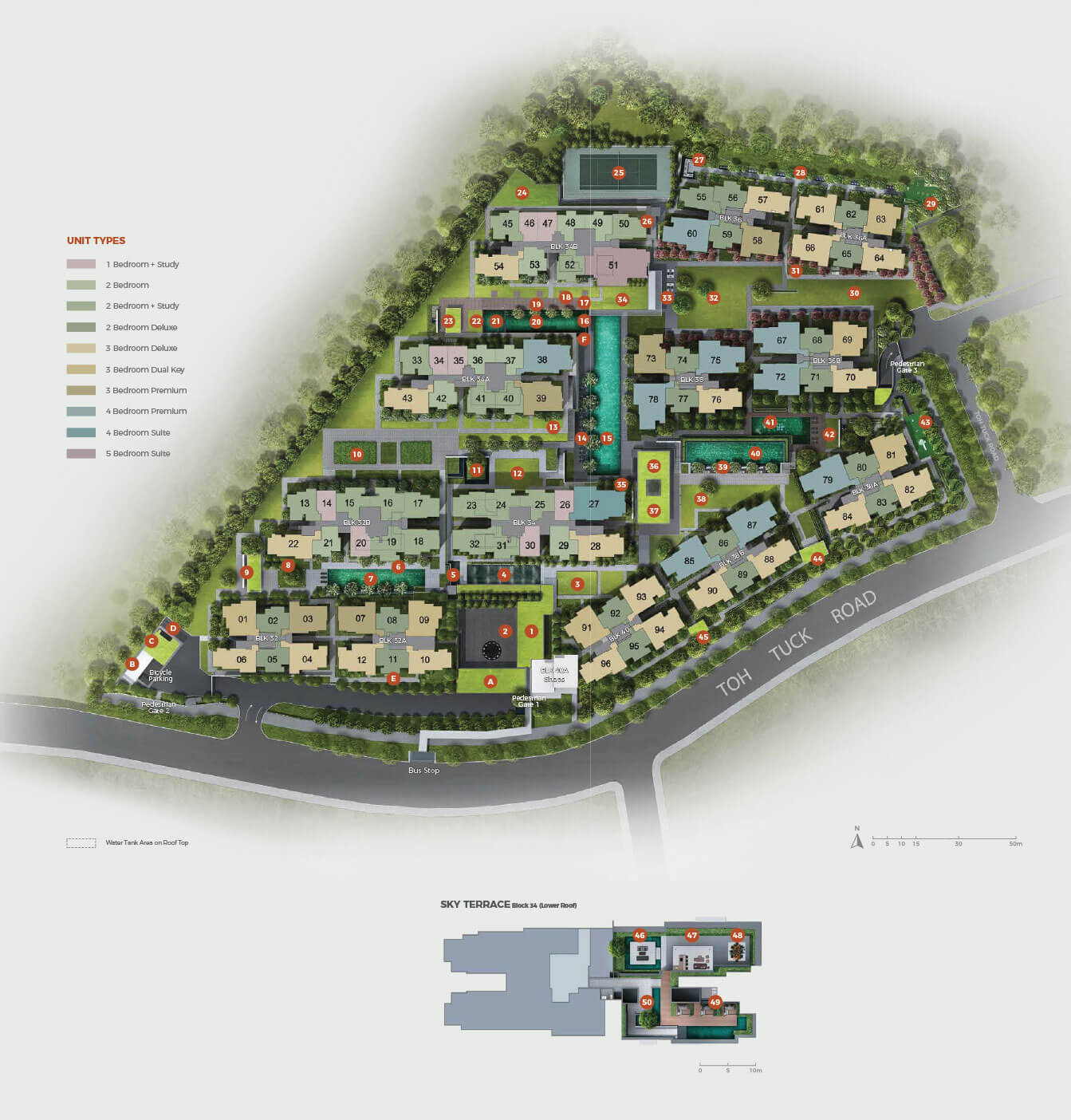 Forett At Bukit Timah New Condo Launch Site Plan