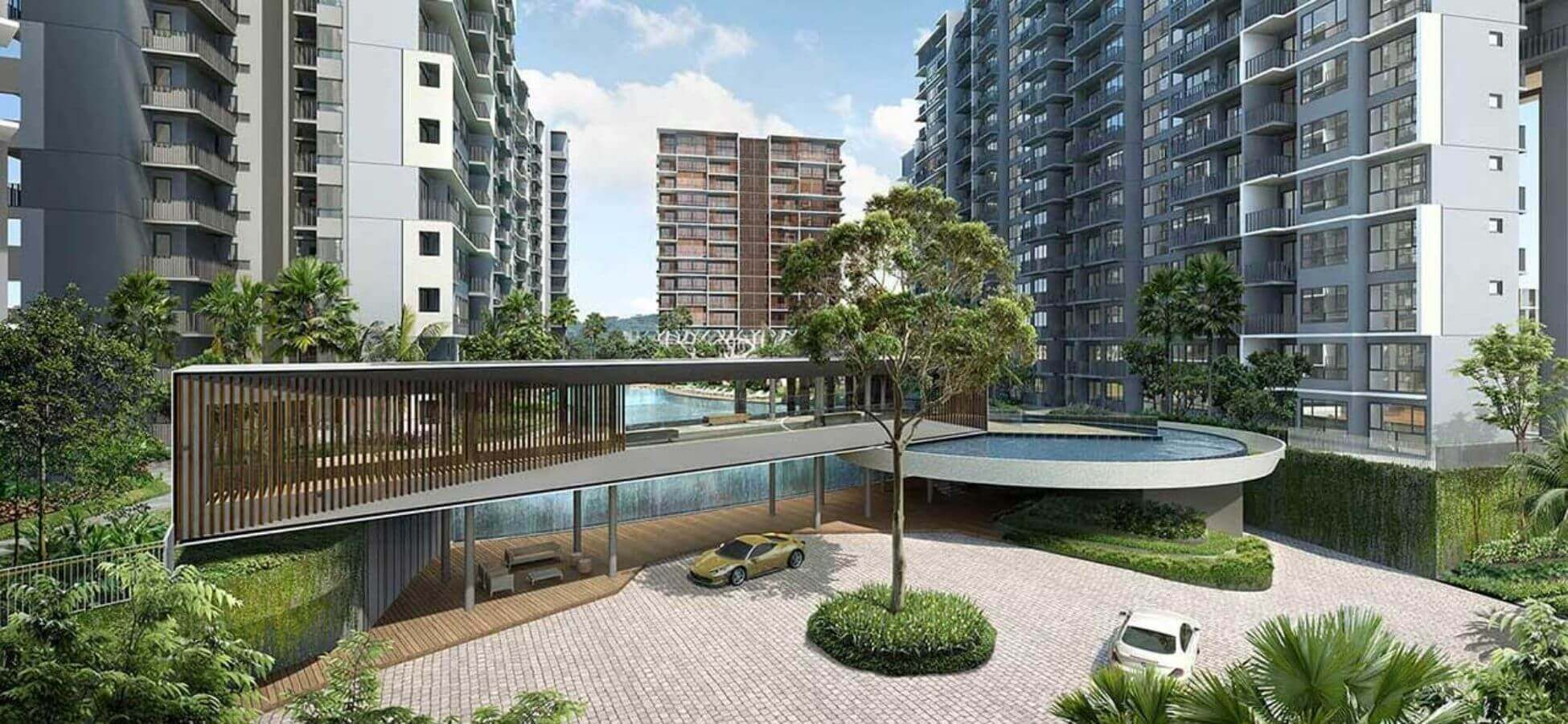 <span>Grandeur Park Residences</span> is Doorstep<br>to MRT D16 Development