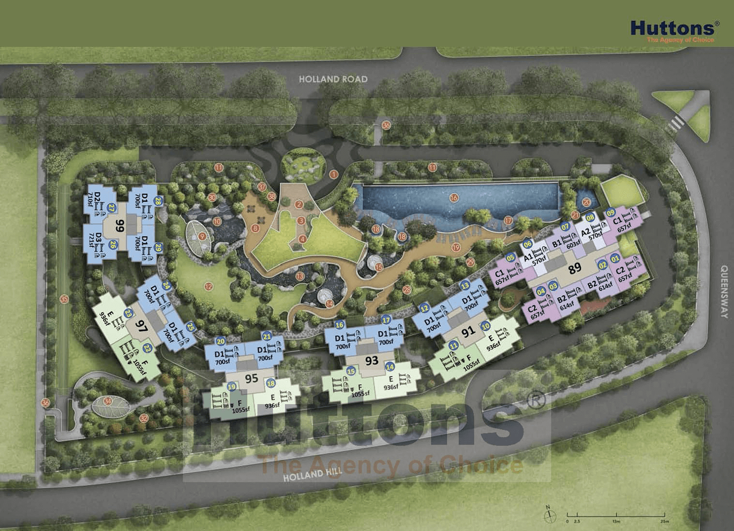 Hyll On Holland New Launch Condo Siteplan
