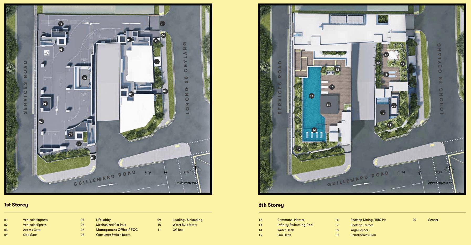 NoMa New Launch Condo Site Plan