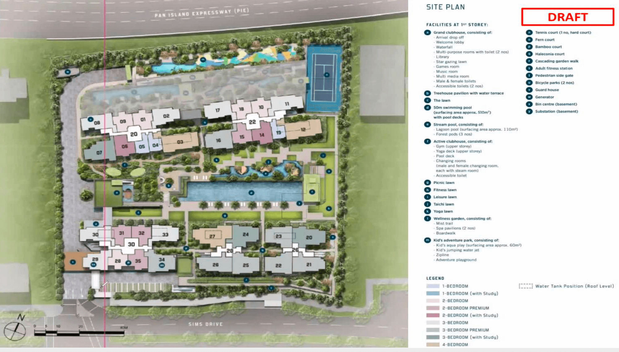 Penrose New Condo Singapore Site Plan