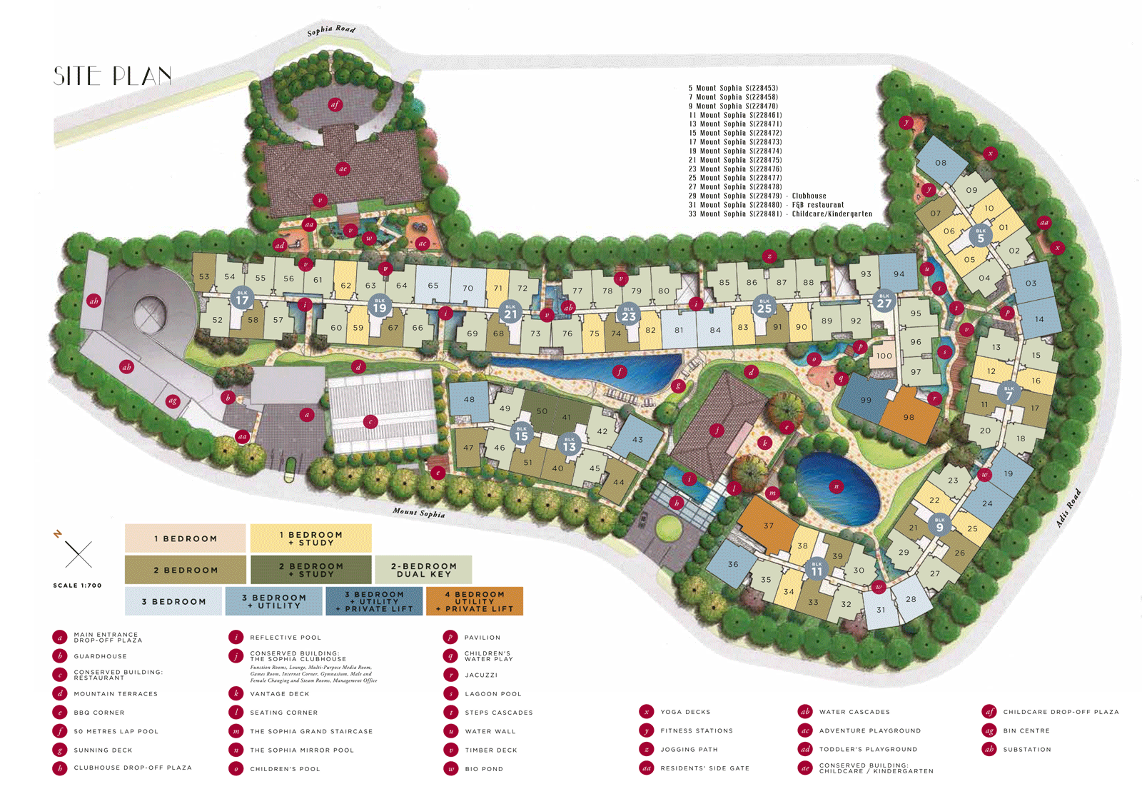 Sophia Hills New Launch Site Plan