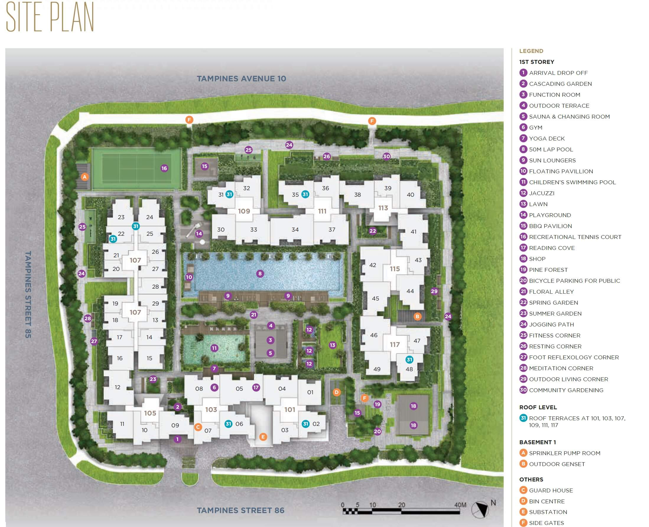 The Alps Residences New Condo Site Plan