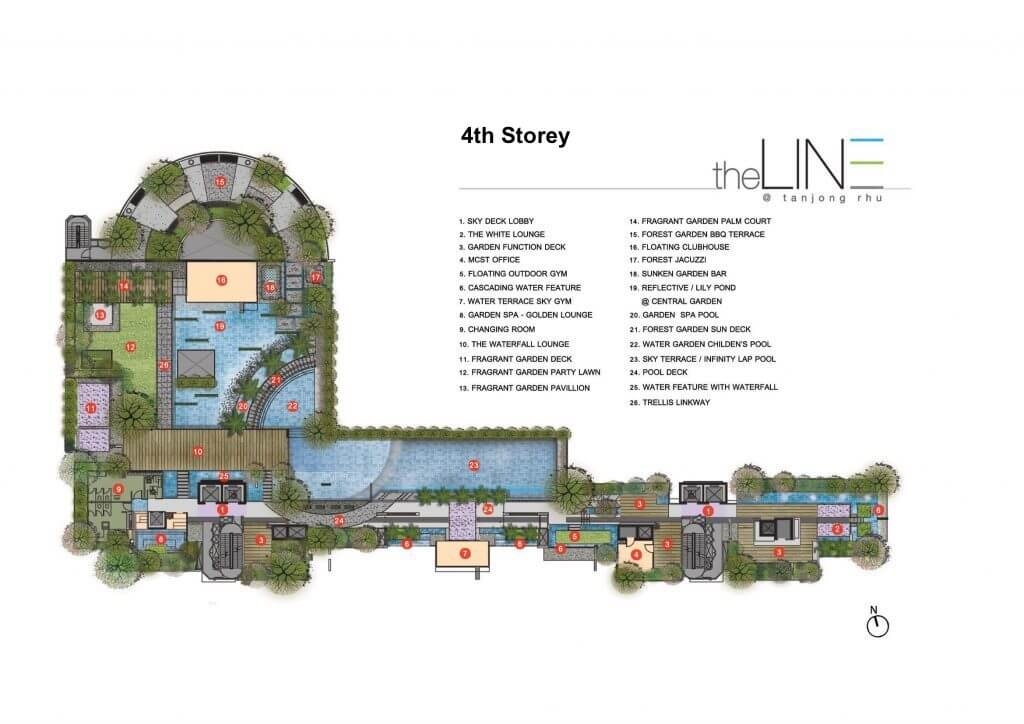 The Line @ Tanjong Rhu New Condo Launch 4th Storey Site Map