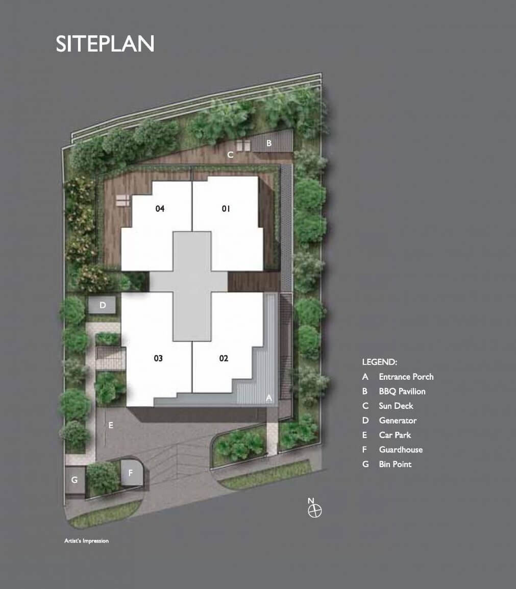 The Peak @ Cairnhill I New Launch Site Plan