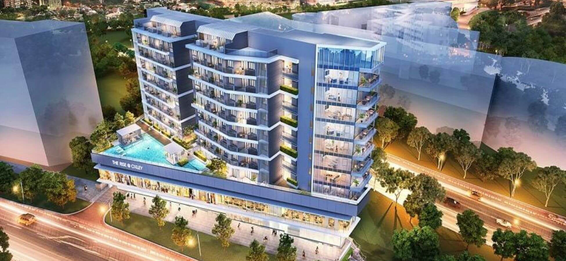 <span>The Rise @ Oxley Residences</span> is a Freehold Development<br>at Prime D9