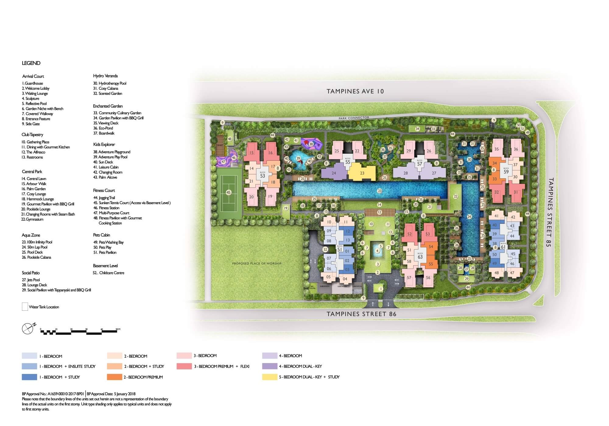 The Tapestry New Condo Site Plan
