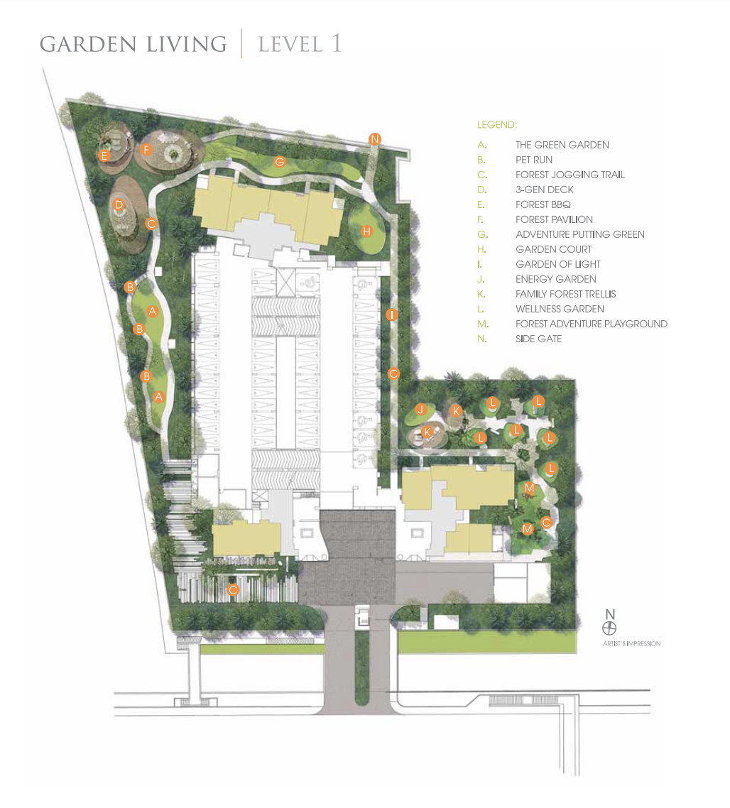 Trilive New Launch Condo Site Plan Level 1