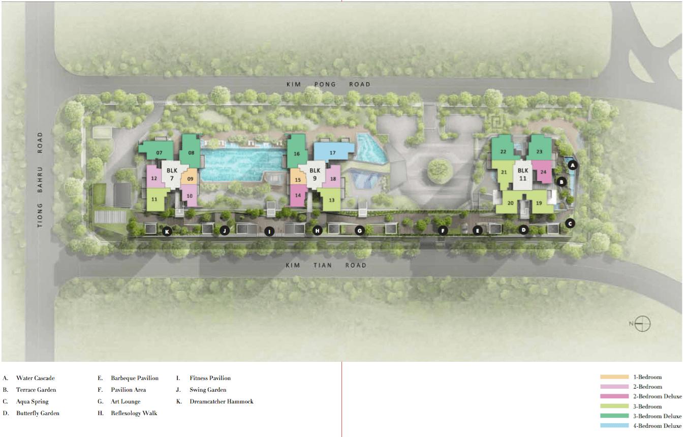 Highline Residences Condo Singapore Site Plan Level 5