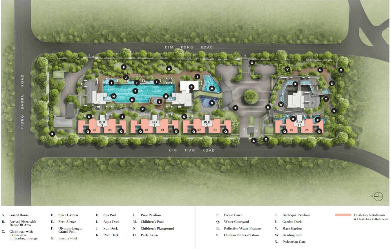 Highline Residences New Launch Site Plan Level 1