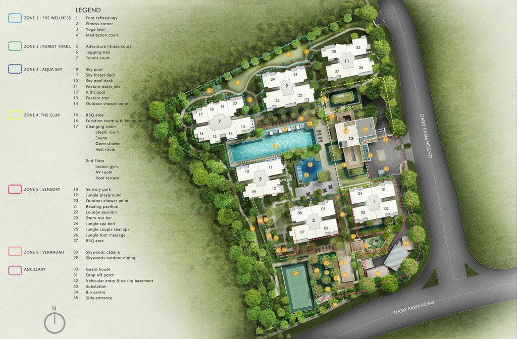 The Skywoods New Condo Site Plan