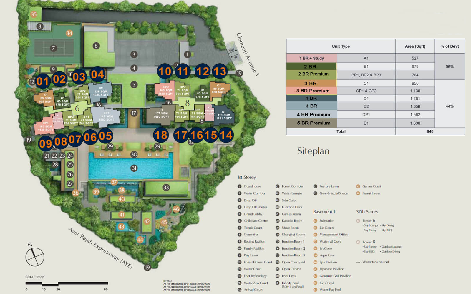 Clavon New Launch Condo Site Plan