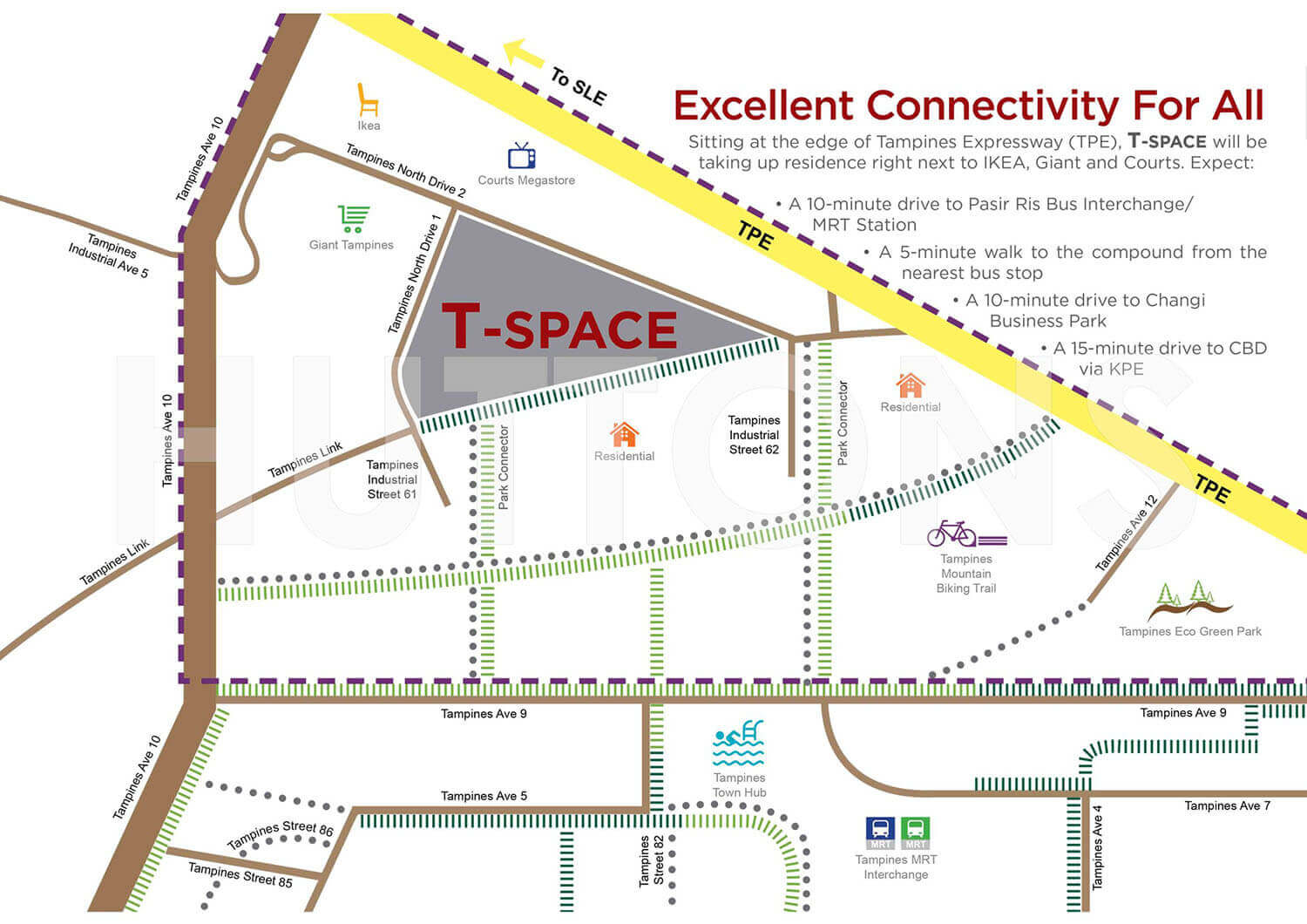 T-space At Tampines Industrial New Launch Location Map